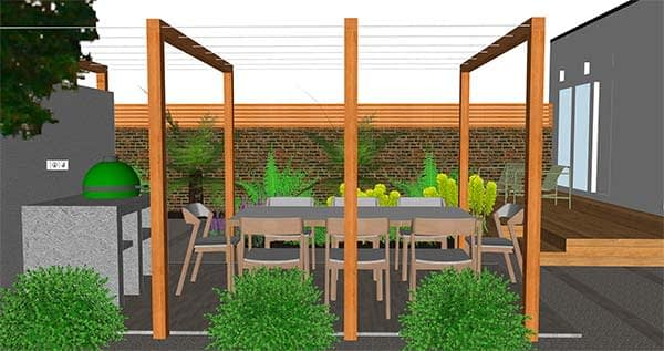 hove garden design brighton sussex